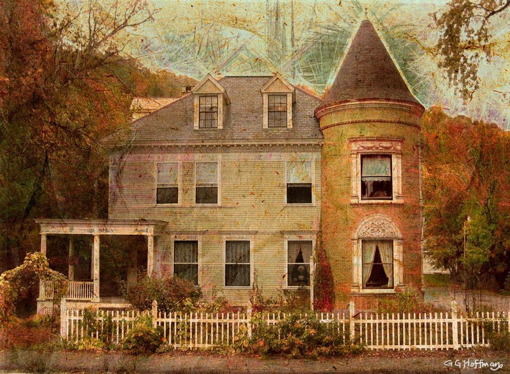 This New England home was transformed with Photoshop CC and Topaz Expression, an awesome new product to create paintings from photos. Check it out on my Facebook page and get a $10 coupon.